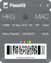 Create Apple Wallet Passes with PassKit® Online Pass Designer